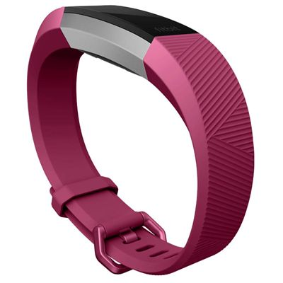 Fitbit Alta HR and Alta Large Classic Accessory Band - Fuchsia -  Angle