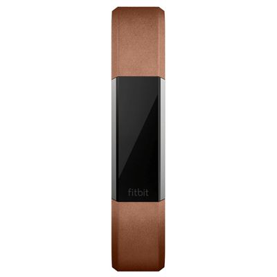 Fitbit Alta HR and Alta Large Leather Accessory Band - Front