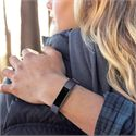 Fitbit Alta HR and Alta Large Leather Accessory Band - Indigo - Lifestyle