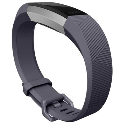 Fitbit Alta HR and Alta Large Classic Accessory Band - Blue - Angled