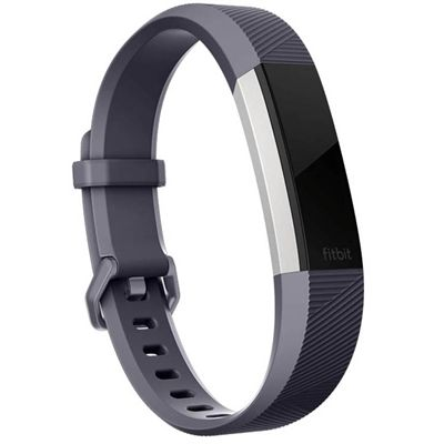 Fitbit Alta HR and Alta Large Classic Accessory Band - Blue - Side