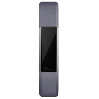 Fitbit Alta HR and Alta Large Leather Accessory Band - Indigo - Front
