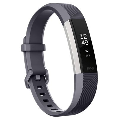 Fitbit Alta HR Large Fitness Tracker with Heart Rate Sensor - Blue