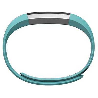 Fitbit Alta Large Fitness Tracker - Aqua - Side