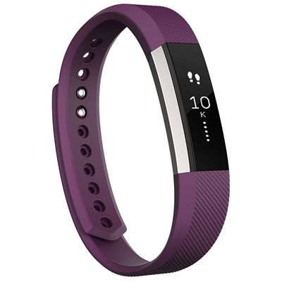 Fitbit Alta Large Fitness Tracker - Plum