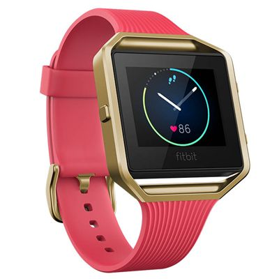 Fitbit Blaze Gold-Plated Edition Smart Fitness Watch with HR