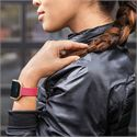 Fitbit Blaze Gold-Plated Large Slim Accessory Band - Pink - Lifestyle