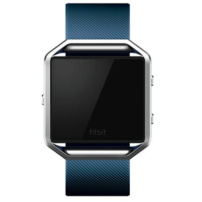 Fitbit Blaze Large Classic Accessory Band - Blue - Front