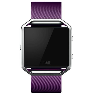 Fitbit Blaze Large Classic Accessory Band - Plum - Front