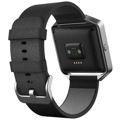 Fitbit Blaze Large Leather Accessory Band - Back