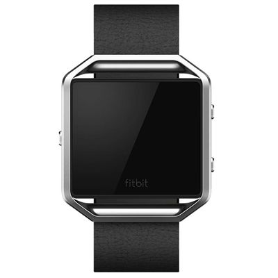 Fitbit Blaze Large Leather Accessory Band - Front