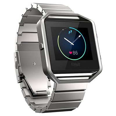 Fitbit Blaze Metal Link Accessory Band - Front