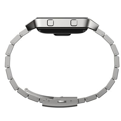 Fitbit Blaze Metal Link Accessory Band - Side