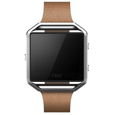 Fitbit Blaze Slim Leather Accessory Band - Front