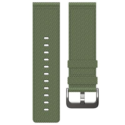 Fitbit Blaze Large Nylon Accessory Band - Green