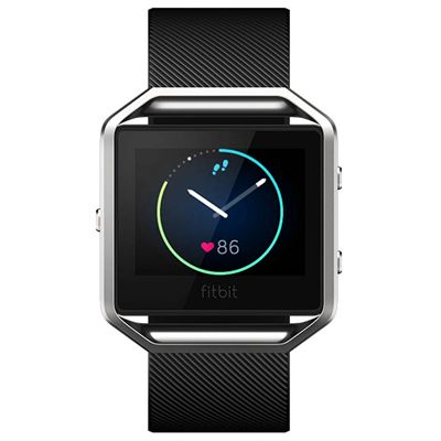 Fitbit Blaze Large Smart Fitness Watch with Heart Rate Sensor - Front