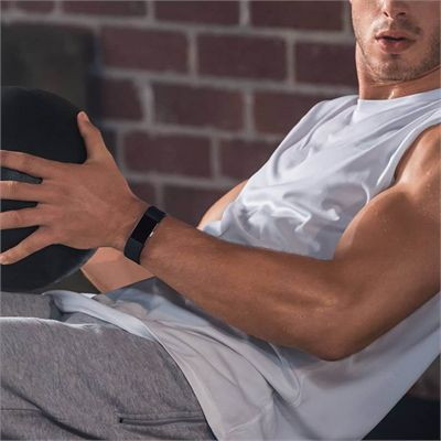 Fitbit Charge 2 Large Fitness Tracker with Heart Rate Sensor - Lifestyle