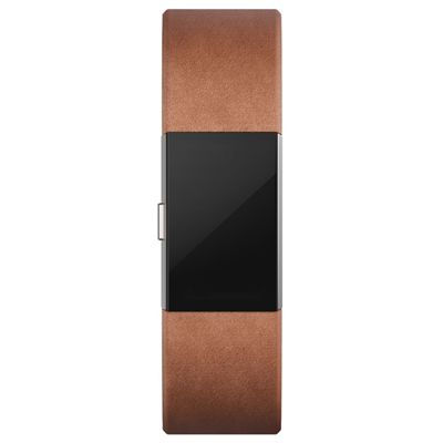 Fitbit Charge 2 Large Leather Accessory Band - Front