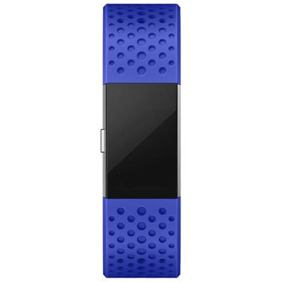 Fitbit Charge 2 Large Sport Accessory Band - Blue - Front