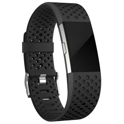 Fitbit Charge 2 Large Sport Accessory Band - In Use1