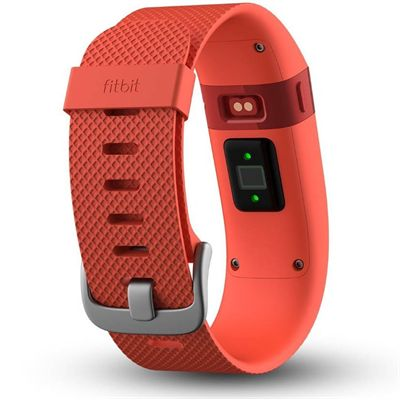 Fitbit Charge Heart Rate Monitor and Activity Tracker - Orange - Back