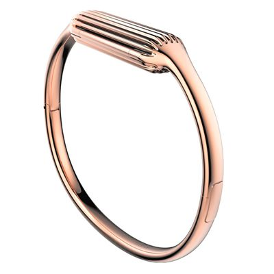 Fitbit Flex 2 Gold-Plated Large Accessory Bangle - Pink