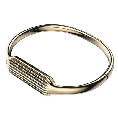 Fitbit Flex 2 Gold-Plated Large Accessory Bangle - Side