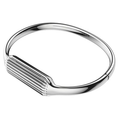 Fitbit Flex 2 Stainless Steel Large Accessory Bangle - Front
