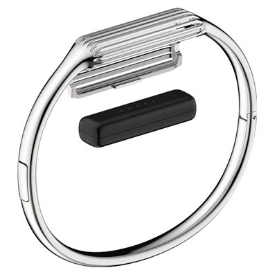 Fitbit Flex 2 Stainless Steel Large Accessory Bangle
