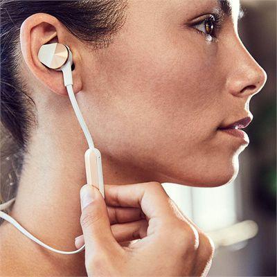 Fitbit Flyer Wireless Fitness Headphones - Grey - Lifestyle