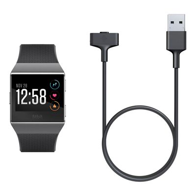 Fitbit Ionic Retail Charging Cable - In Use