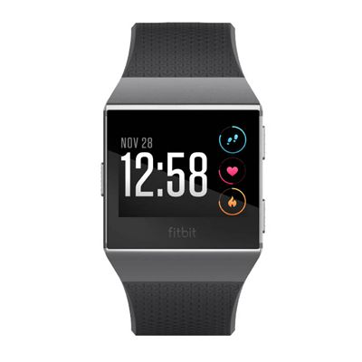 Fitbit Ionic Smart Fitness Watch with Heart Rate Sensor - Charocal - Side