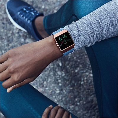 Fitbit Ionic Smart Fitness Watch with Heart Rate Sensor - Lifestyle