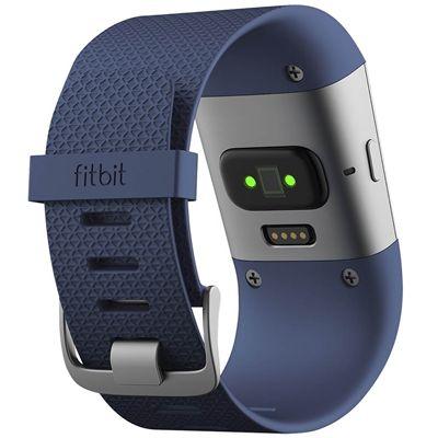 Fitbit Surge GPS Watch - Blue - Back