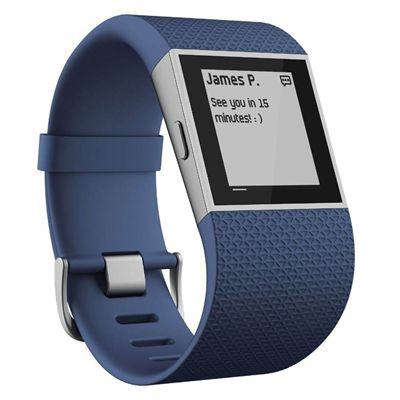 Fitbit Surge GPS Watch - Blue - Messege