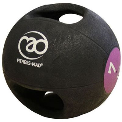 Fitness Mad 7kg Double Grip Medicine Ball