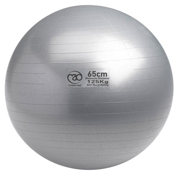 Fitness Mad 125kg Anti Burst Swiss Ball 65cm