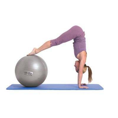 Fitness Mad 125Kg Anti-Burst Swiss Ball - 65cm - In Use