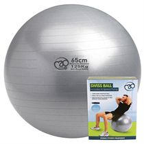 Fitness Mad 125Kg Anti-Burst Swiss Ball - 65cm