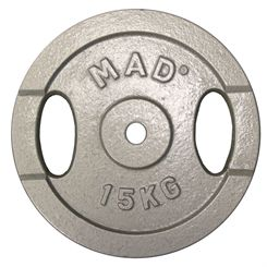 Fitness Mad 15kg Standard Weight Plate
