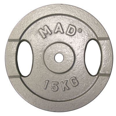 Fitness Mad 15Kg Barbel Plate 25.4mm