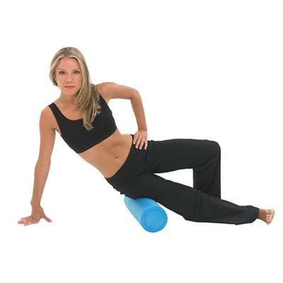 Fitness Mad 18 Inch Foam Roller in Use