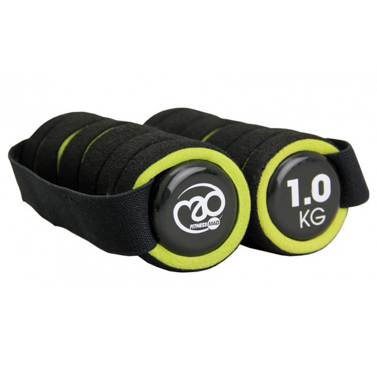 Fitness Mad 1kg Pro Hand Weights