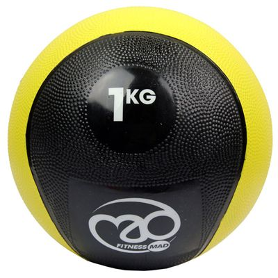 Fitness Mad 1Kg PVC Medicine Ball
