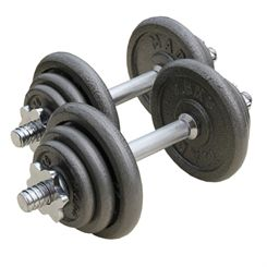 Fitness Mad 20kg Adjustable Dumbbell Set