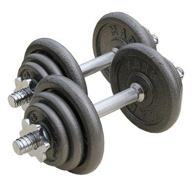 Fitness Mad 20kg Adjustable Dumbbell Set
