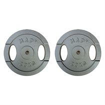 Fitness Mad 2 x 20kg Standard Weight Plates
