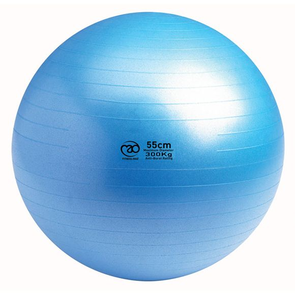 Exercise Ball 75cm Anti Burst: Fitness Mad 300Kg Anti Burst Swiss Ball 55cm