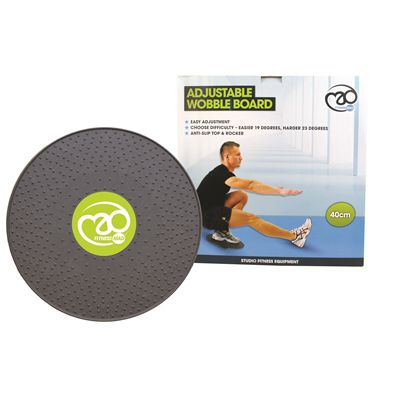 Fitness Mad 40cm Adjustable Wobble Board - Packaging