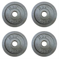 Fitness Mad 4 x 1.25kg Standard Weight Plates